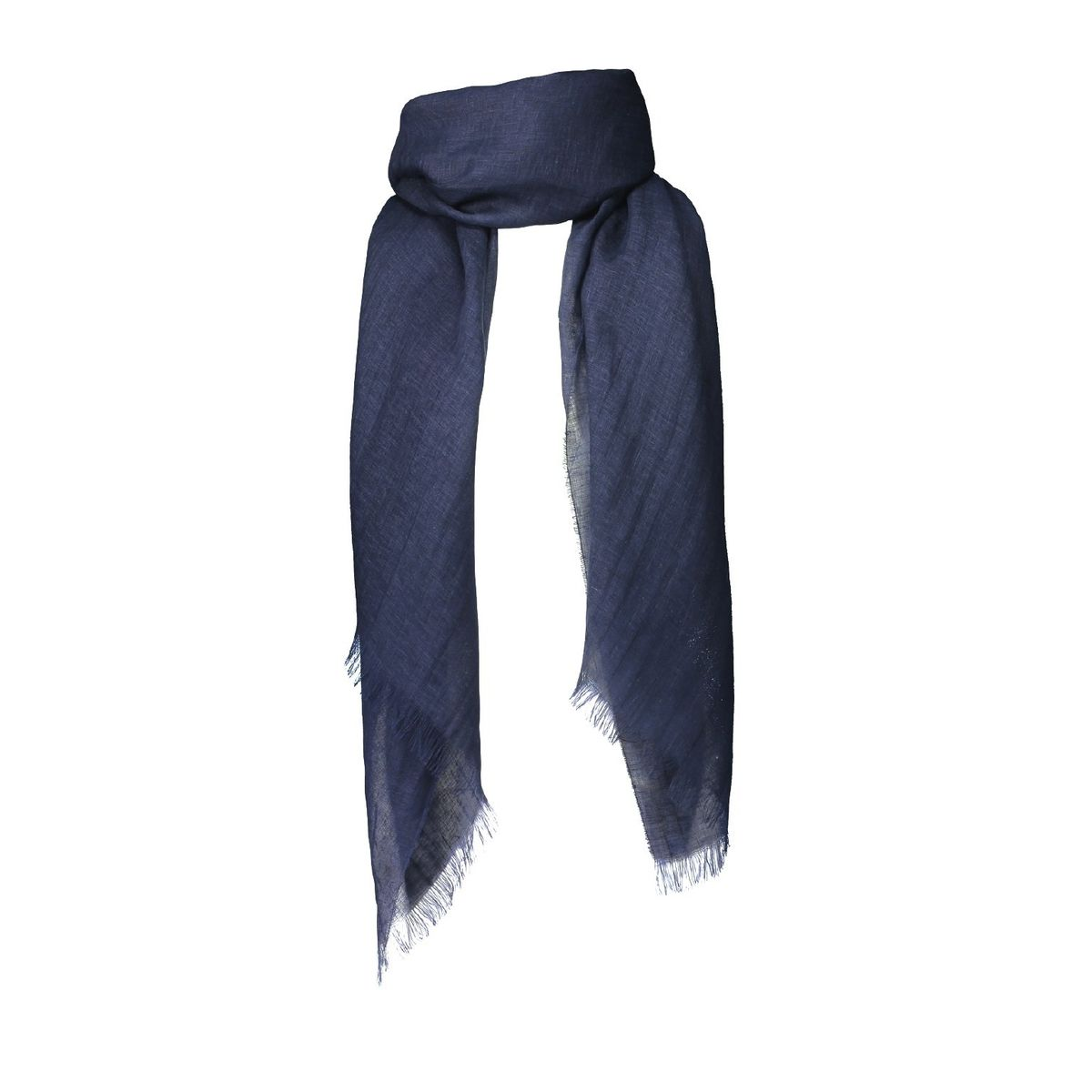 Balmuir Alessia Linen Scarf Midnight