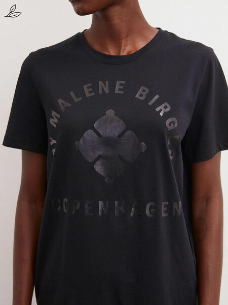 By Malene Birger Desmos T-paita, Black