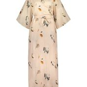 Uhana Compassionate Wrap Dress Champagne