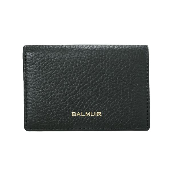 Balmuir Cecil Card Holder, Black/Gold